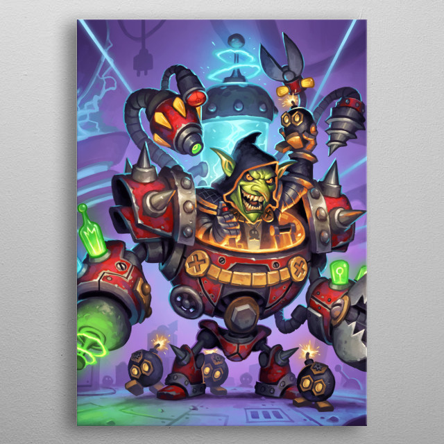 This marvelous metal poster designed by Blizzard to add authenticity to your place. Display your passion to the whole world. metal poster