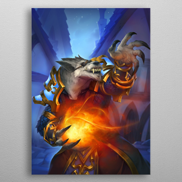 High-quality metal print from amazing Hearthstone collection will bring unique style to your space and will show off your personality. metal poster