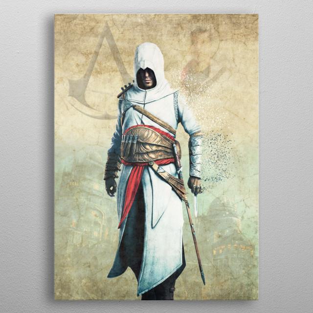 Altair metal poster