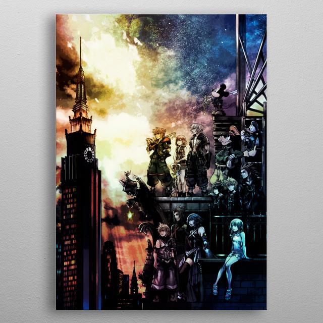 Chosen Wielders metal poster