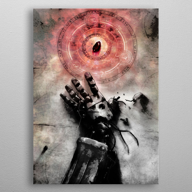 High-quality metal print from amazing Japanese Animation Art collection will bring unique style to your space and will show off your personality. metal poster