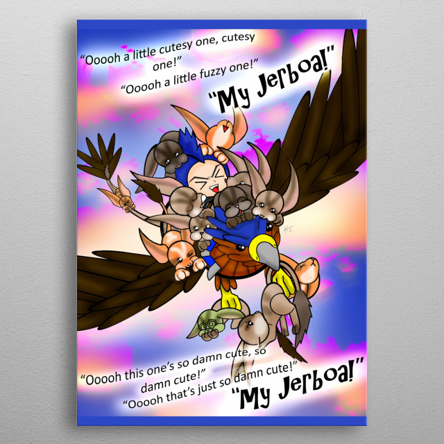 Is there such thing as too many Jerboas? I think not! Appsro from Neebs Gaming: ARK. metal poster
