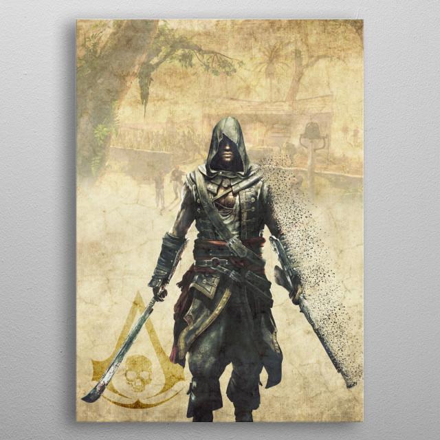 Adewale metal poster