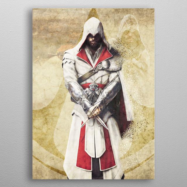 Ezio metal poster