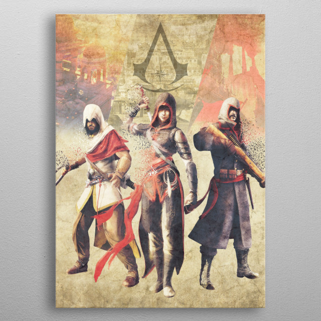 Chronicles metal poster