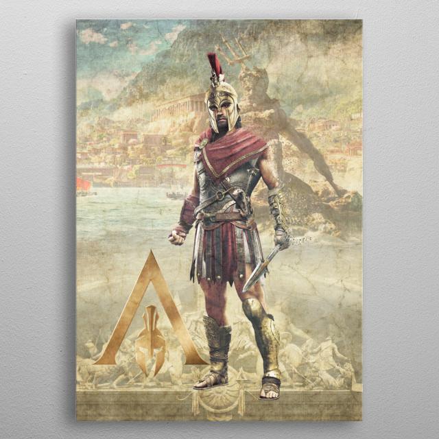 Alexios metal poster