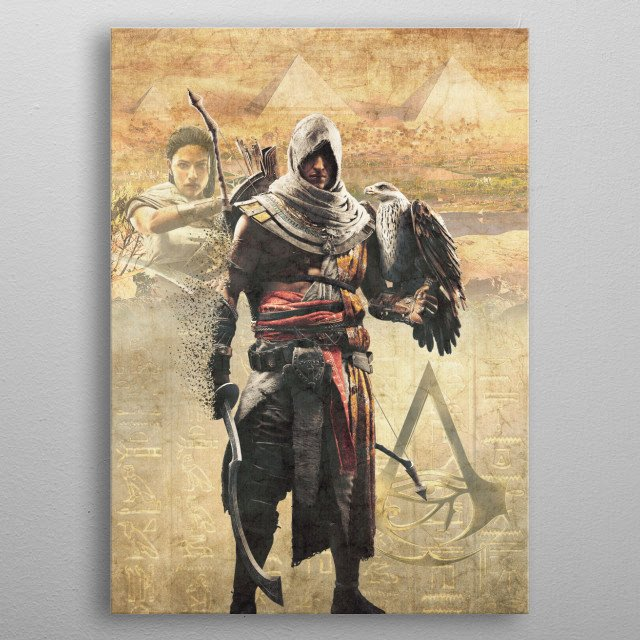 High-quality metal wall art meticulously designed by ssluc1an would bring extraordinary style to your room. Hang it & enjoy. metal poster