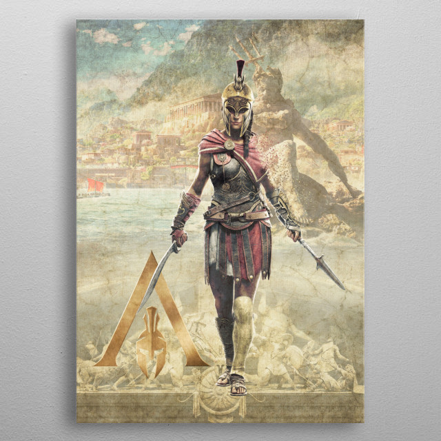High-quality metal print from amazing Vintage Gaming Posters collection will bring unique style to your space and will show off your personality. metal poster