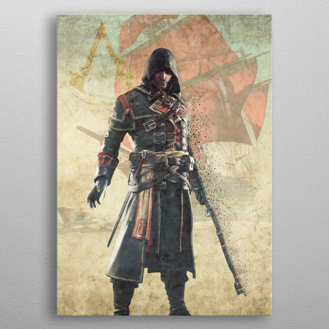 This marvelous metal poster designed by ssluc1an to add authenticity to your place. Display your passion to the whole world. metal poster