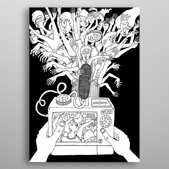 The soul catcher metal poster