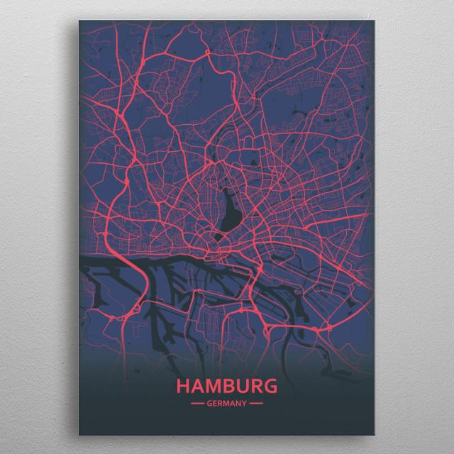Hamburg metal poster