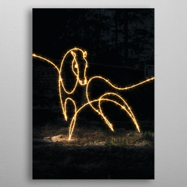High-quality metal print from amazing Sparkling Wilds collection will bring unique style to your space and will show off your personality. metal poster