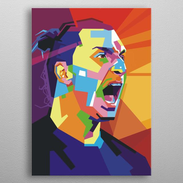 Ibrahimovic Zlatan metal poster