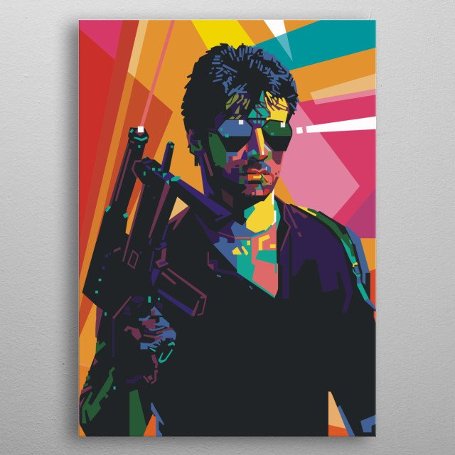 High-quality metal print from amazing Wpap Poster collection will bring unique style to your space and will show off your personality. metal poster