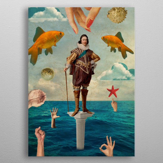 Fascinating  metal poster designed with love by elomarc. Decorate your space with this design & find daily inspiration in it. metal poster