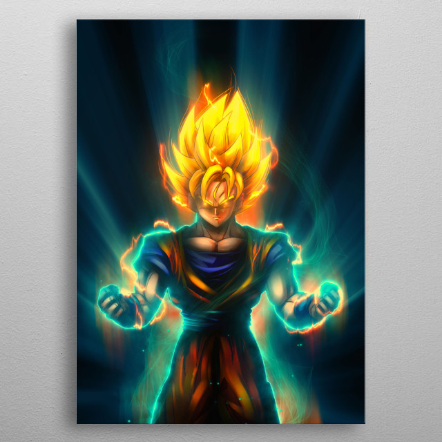 the anime collection metal poster