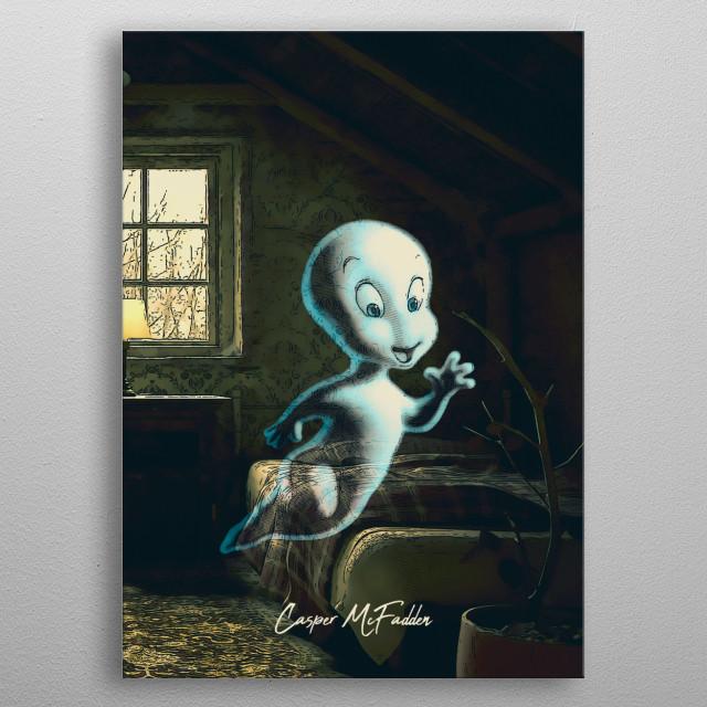 Casper metal poster