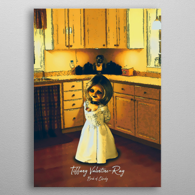 Tiffany Valentine-Ray - Bride Of Chucky metal poster
