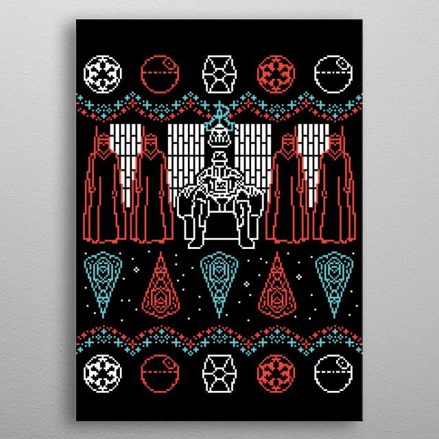 A Dark Mind metal poster