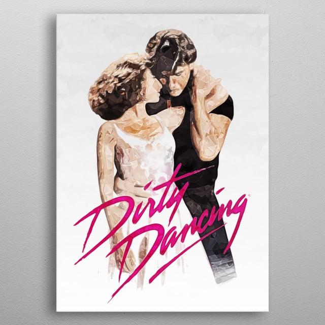 Dirty Dancing metal poster