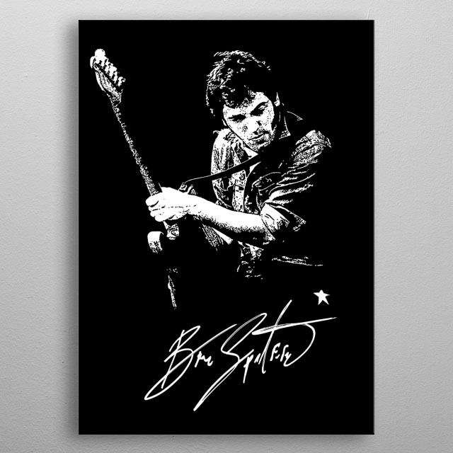 Bruce Springsteen - Born in USA - Rock - Music  metal poster
