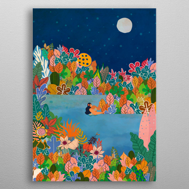 High-quality metal wall art meticulously designed by draw4you would bring extraordinary style to your room. Hang it & enjoy. metal poster