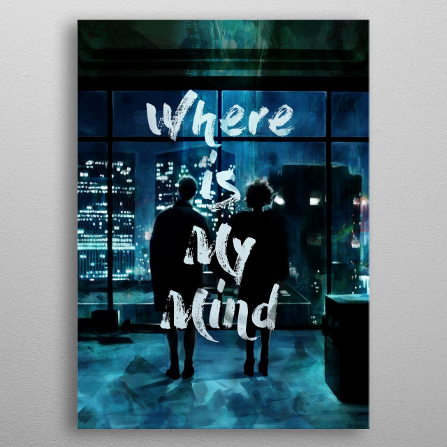 Where Is My Mind metal poster