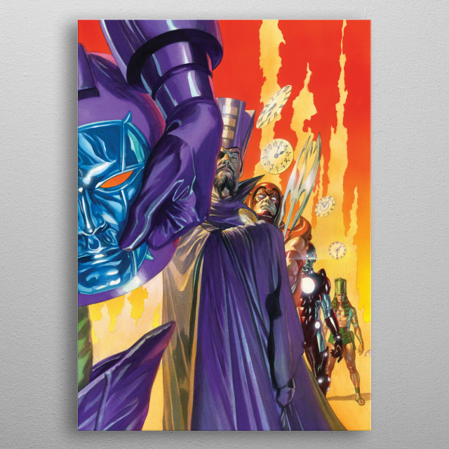 Kang The Conqueror metal poster