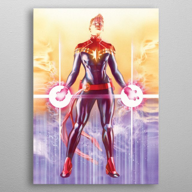 High-quality metal print from amazing Marvel By Alex Ross collection will bring unique style to your space and will show off your personality. metal poster