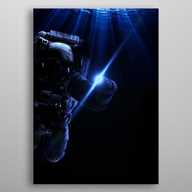 Ocean metal poster