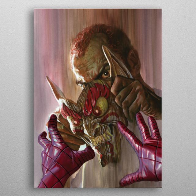 Green Goblin  metal poster