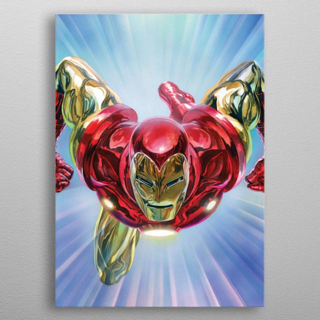 Iron Man  metal poster