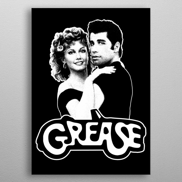 Grease-Movie-Musical-!978 metal poster