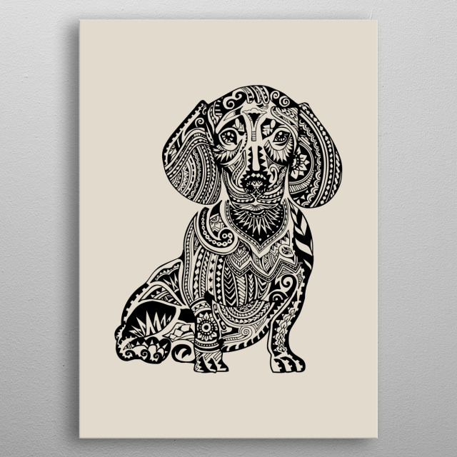 Bangkok-based Chalermphol Harnchakkham is a self-taught illustrator whose unique work is inspired by Pug, French bulldog, Fitness and Dream. Chalermphol creates art to express himself and enjoys making people smile with his artwork. metal poster