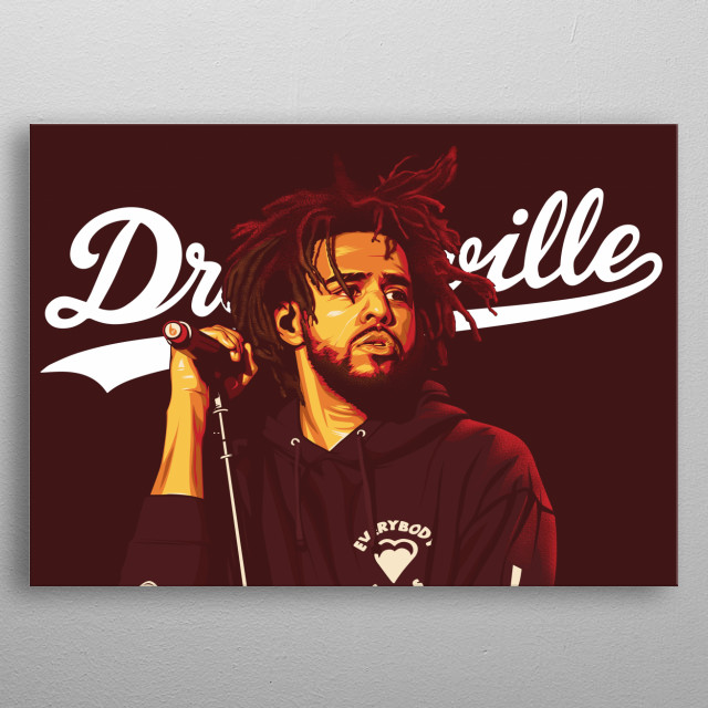 Dreamville edition metal poster