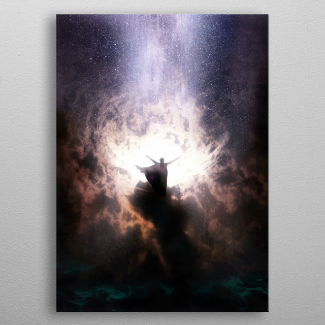 Aiming to Master the Elements metal poster
