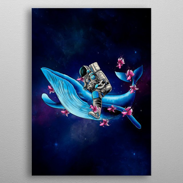 wanderer between galaxies who have never known the existence of dimensional limitations. Hope you enjouy it. :) metal poster