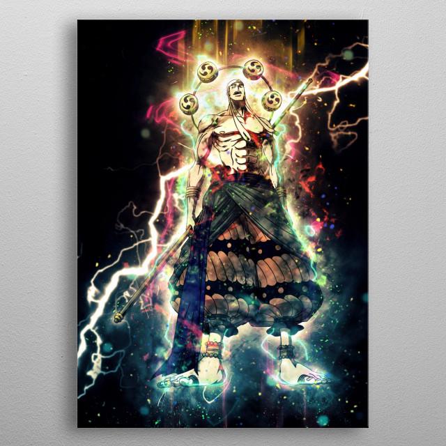 Ene metal poster