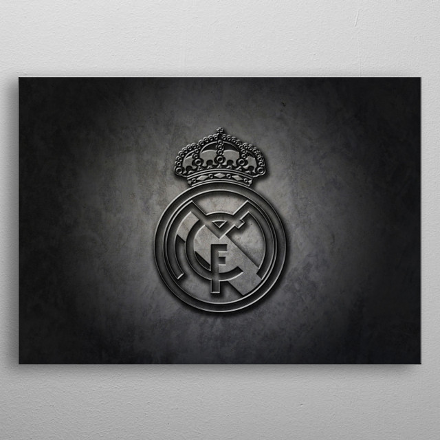 Football Team of the First Division of Spain metal poster