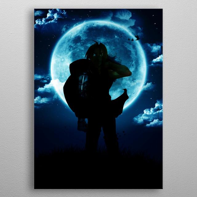 The alchemist metal poster