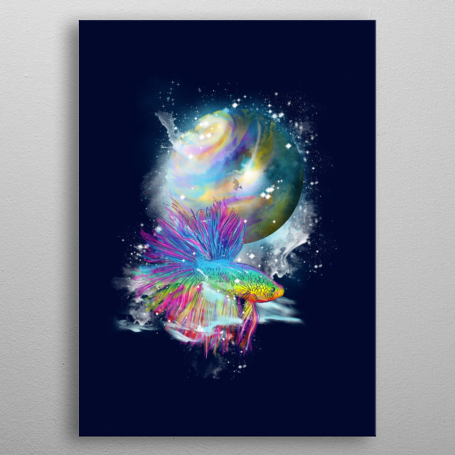 psychedelic  metal poster
