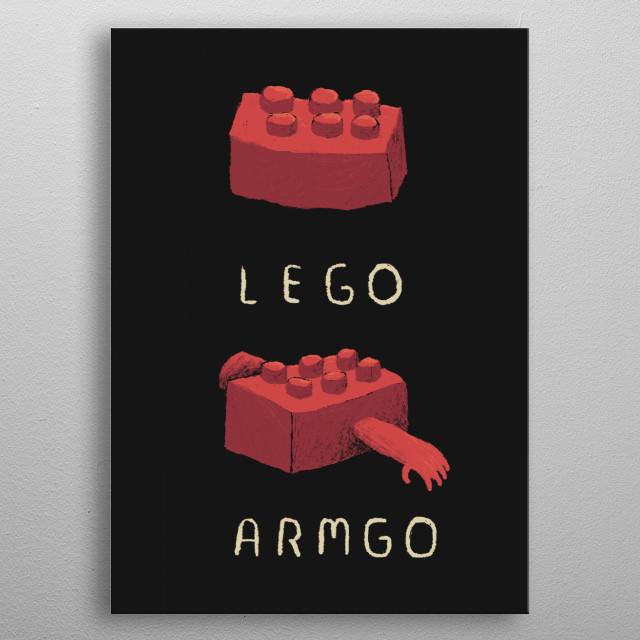 armgo! metal poster
