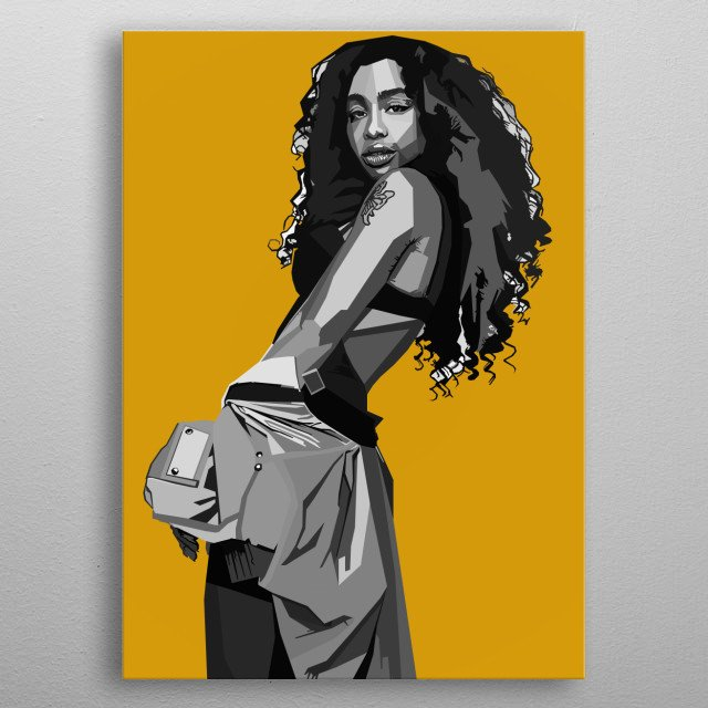 Fascinating  metal poster designed with love by Mixiart88. Decorate your space with this design & find daily inspiration in it. metal poster