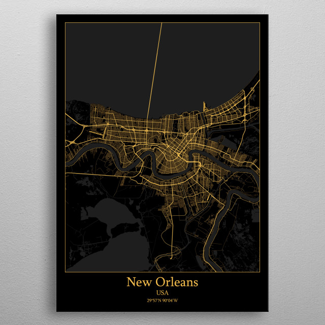 This marvelous metal poster designed by iwoko to add authenticity to your place. Display your passion to the whole world. metal poster