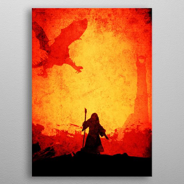 The Grey metal poster
