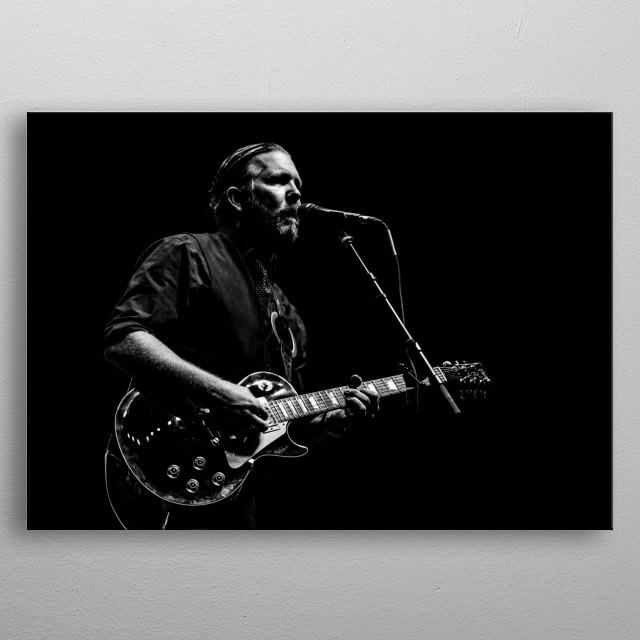 Devon Allman in concert, shot by our own AJ Miragliotta metal poster