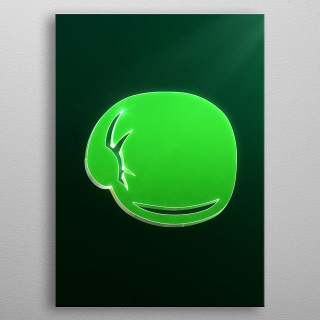 Little Mac emblem metal poster