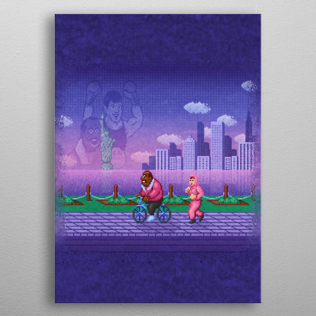 Out Punch by Likelikes metal poster