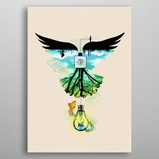 Dream Catcher metal poster