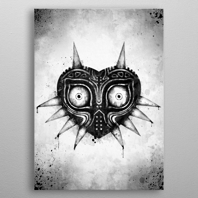 Main villain from the sixth main installment in The Legend of Zelda series. metal poster